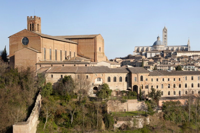 View of Duomo in SIena, Italy