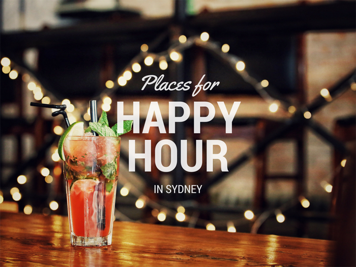 Post image for Places for Happy Hour in Sydney