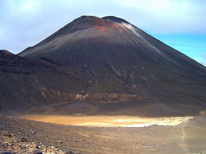 Tongariro circuit, New Zealand