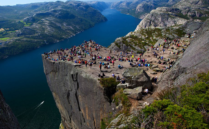 preachers pulpit norway