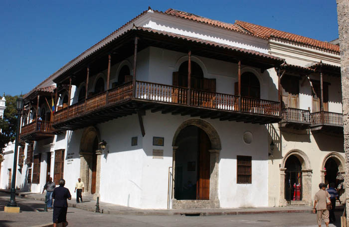 Palace of the Inquisition in Cartagena